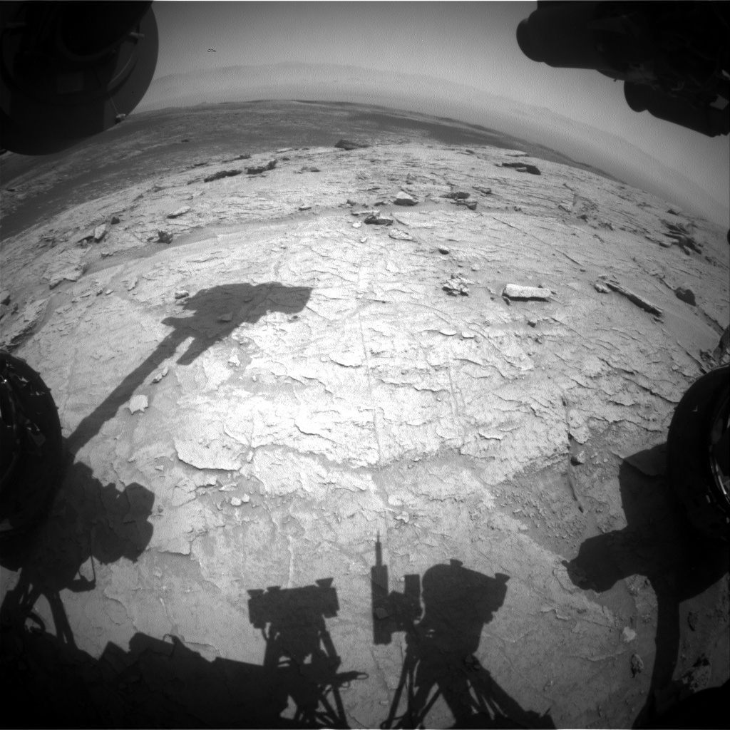 Nasa's Mars rover Curiosity acquired this image using its Front Hazard Avoidance Camera (Front Hazcam) on Sol 3106, at drive 2578, site number 87