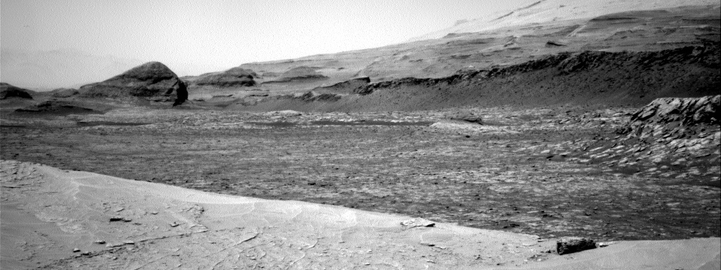 Nasa's Mars rover Curiosity acquired this image using its Right Navigation Camera on Sol 3106, at drive 2578, site number 87