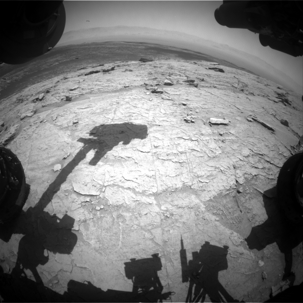 Nasa's Mars rover Curiosity acquired this image using its Front Hazard Avoidance Camera (Front Hazcam) on Sol 3108, at drive 2578, site number 87