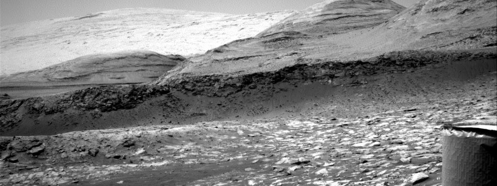 Nasa's Mars rover Curiosity acquired this image using its Right Navigation Camera on Sol 3108, at drive 2578, site number 87