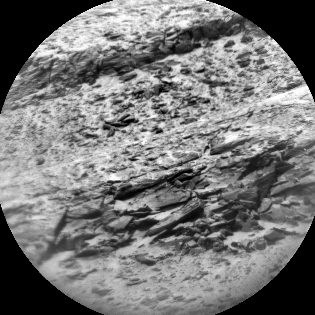 Nasa's Mars rover Curiosity acquired this image using its Chemistry & Camera (ChemCam) on Sol 3108, at drive 2578, site number 87