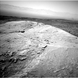 Nasa's Mars rover Curiosity acquired this image using its Left Navigation Camera on Sol 3109, at drive 2608, site number 87