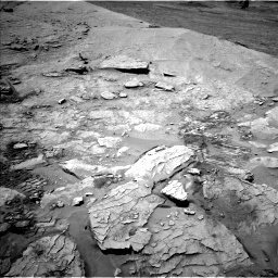 Nasa's Mars rover Curiosity acquired this image using its Left Navigation Camera on Sol 3109, at drive 2638, site number 87
