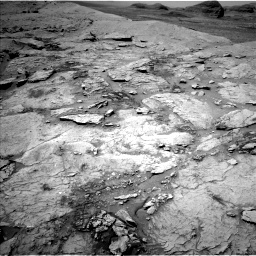 Nasa's Mars rover Curiosity acquired this image using its Left Navigation Camera on Sol 3109, at drive 2662, site number 87