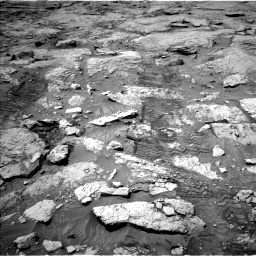 Nasa's Mars rover Curiosity acquired this image using its Left Navigation Camera on Sol 3109, at drive 2716, site number 87