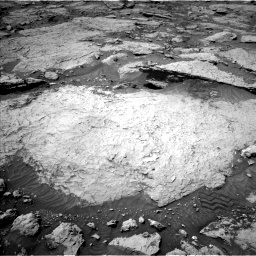 Nasa's Mars rover Curiosity acquired this image using its Left Navigation Camera on Sol 3109, at drive 2764, site number 87