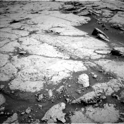 Nasa's Mars rover Curiosity acquired this image using its Left Navigation Camera on Sol 3109, at drive 2800, site number 87