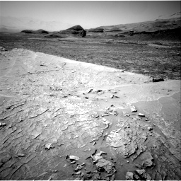 Nasa's Mars rover Curiosity acquired this image using its Right Navigation Camera on Sol 3109, at drive 2584, site number 87