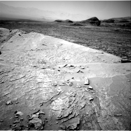 Nasa's Mars rover Curiosity acquired this image using its Right Navigation Camera on Sol 3109, at drive 2590, site number 87