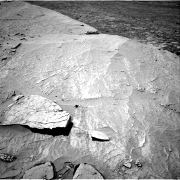 Nasa's Mars rover Curiosity acquired this image using its Right Navigation Camera on Sol 3109, at drive 2614, site number 87