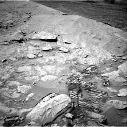 Nasa's Mars rover Curiosity acquired this image using its Right Navigation Camera on Sol 3109, at drive 2632, site number 87