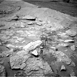Nasa's Mars rover Curiosity acquired this image using its Right Navigation Camera on Sol 3109, at drive 2638, site number 87