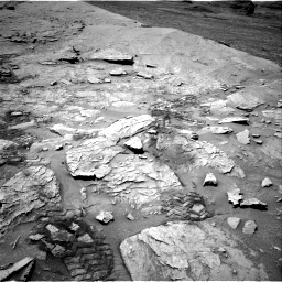 Nasa's Mars rover Curiosity acquired this image using its Right Navigation Camera on Sol 3109, at drive 2644, site number 87