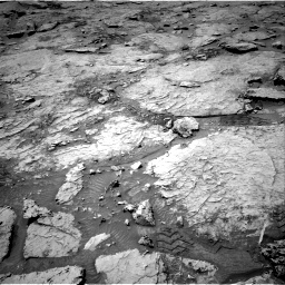 Nasa's Mars rover Curiosity acquired this image using its Right Navigation Camera on Sol 3109, at drive 2680, site number 87