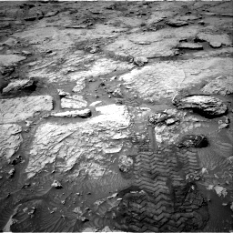 Nasa's Mars rover Curiosity acquired this image using its Right Navigation Camera on Sol 3109, at drive 2692, site number 87
