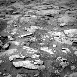 Nasa's Mars rover Curiosity acquired this image using its Right Navigation Camera on Sol 3109, at drive 2716, site number 87