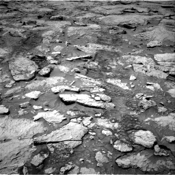 Nasa's Mars rover Curiosity acquired this image using its Right Navigation Camera on Sol 3109, at drive 2728, site number 87