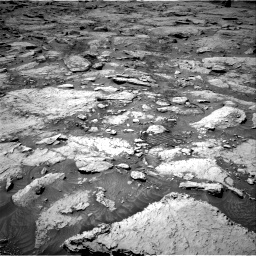 Nasa's Mars rover Curiosity acquired this image using its Right Navigation Camera on Sol 3109, at drive 2746, site number 87