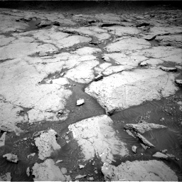 Nasa's Mars rover Curiosity acquired this image using its Right Navigation Camera on Sol 3109, at drive 2800, site number 87