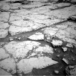 Nasa's Mars rover Curiosity acquired this image using its Right Navigation Camera on Sol 3109, at drive 2842, site number 87