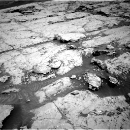 Nasa's Mars rover Curiosity acquired this image using its Right Navigation Camera on Sol 3109, at drive 2860, site number 87