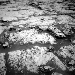 Nasa's Mars rover Curiosity acquired this image using its Right Navigation Camera on Sol 3109, at drive 2872, site number 87