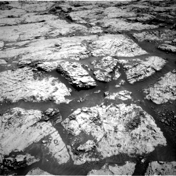Nasa's Mars rover Curiosity acquired this image using its Right Navigation Camera on Sol 3109, at drive 2878, site number 87