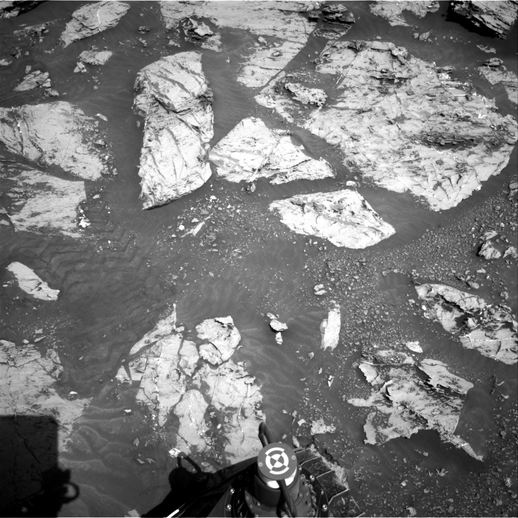 Nasa's Mars rover Curiosity acquired this image using its Right Navigation Camera on Sol 3109, at drive 2896, site number 87