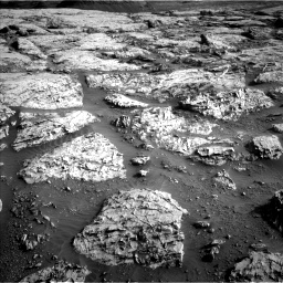 Nasa's Mars rover Curiosity acquired this image using its Left Navigation Camera on Sol 3110, at drive 2896, site number 87
