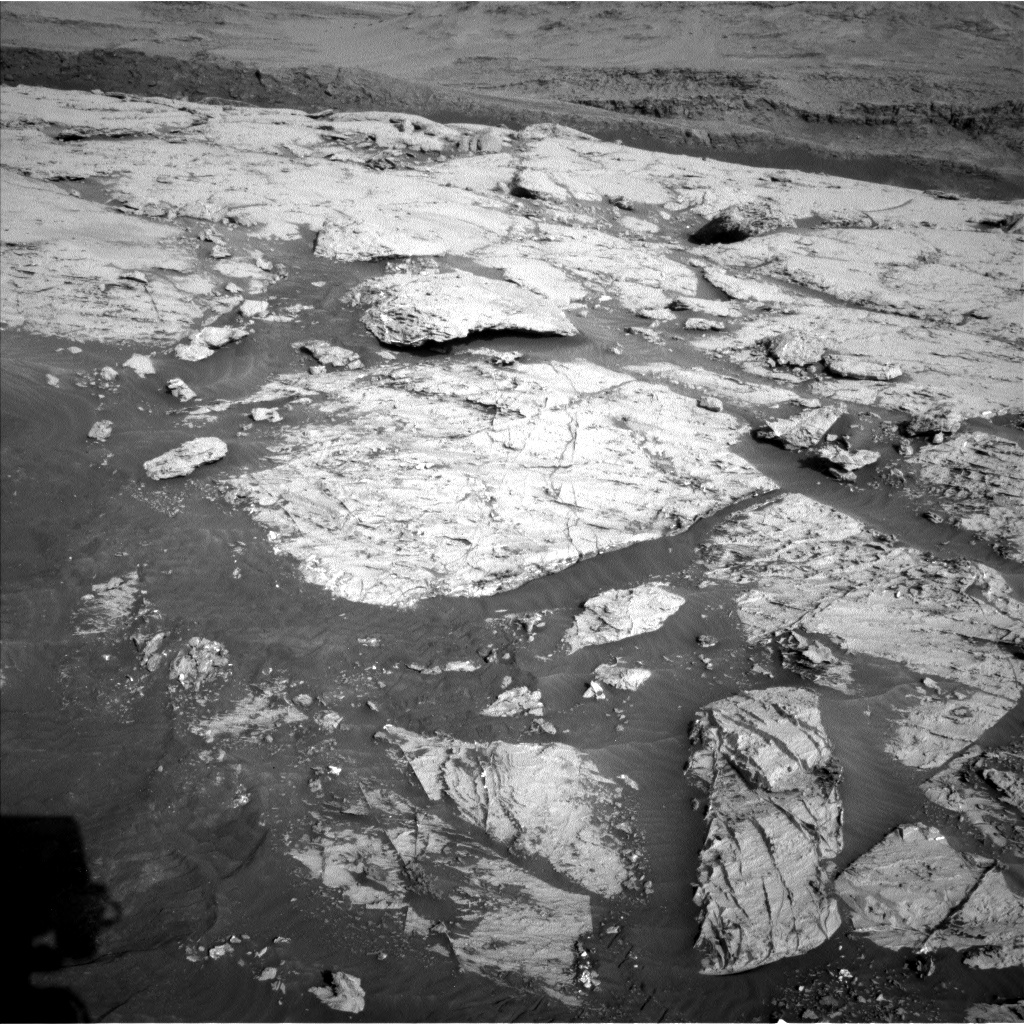 Nasa's Mars rover Curiosity acquired this image using its Left Navigation Camera on Sol 3110, at drive 2902, site number 87