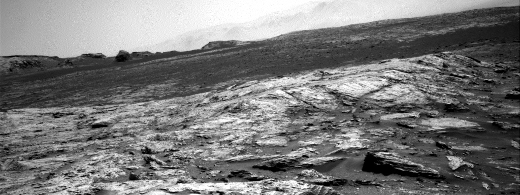 Nasa's Mars rover Curiosity acquired this image using its Right Navigation Camera on Sol 3110, at drive 2896, site number 87