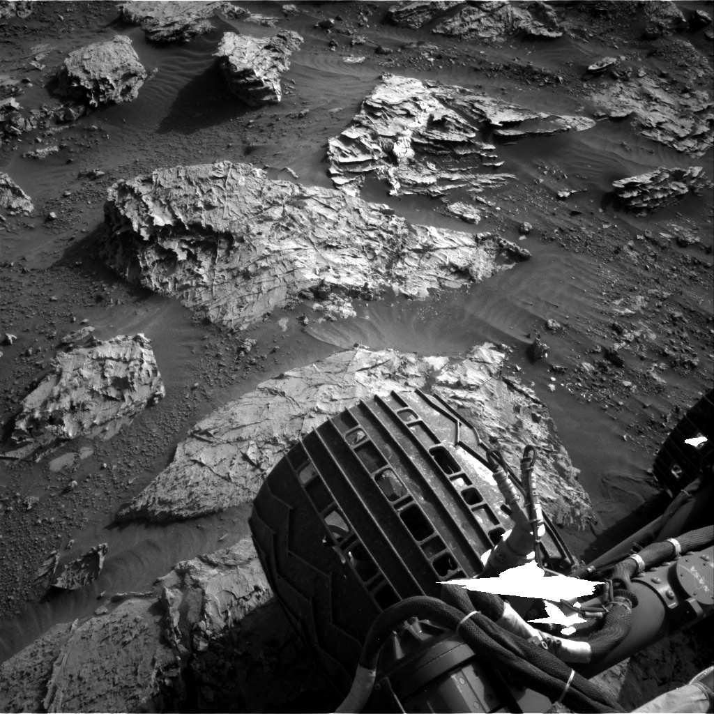 Nasa's Mars rover Curiosity acquired this image using its Right Navigation Camera on Sol 3110, at drive 2902, site number 87