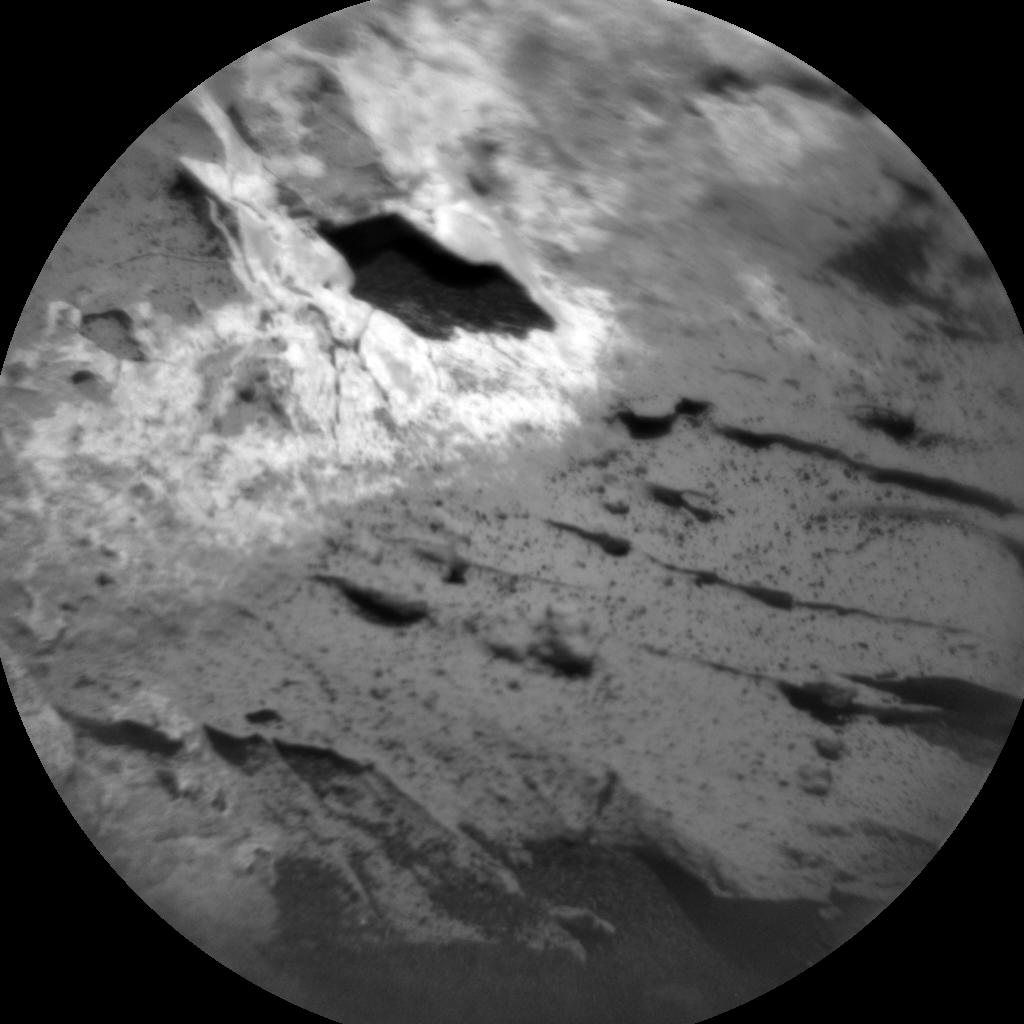 Nasa's Mars rover Curiosity acquired this image using its Chemistry & Camera (ChemCam) on Sol 3110, at drive 2896, site number 87