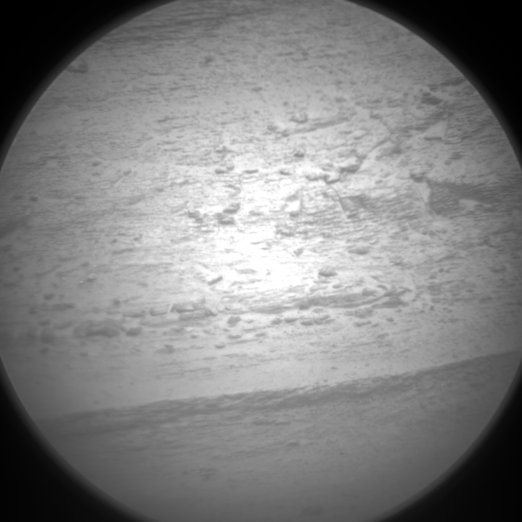 Nasa's Mars rover Curiosity acquired this image using its Chemistry & Camera (ChemCam) on Sol 3112, at drive 2902, site number 87
