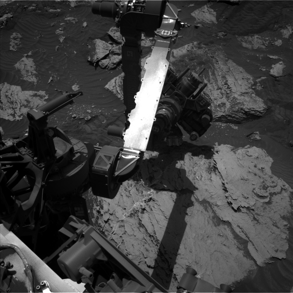 Nasa's Mars rover Curiosity acquired this image using its Left Navigation Camera on Sol 3113, at drive 2902, site number 87
