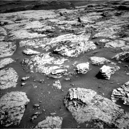 Nasa's Mars rover Curiosity acquired this image using its Left Navigation Camera on Sol 3113, at drive 2908, site number 87