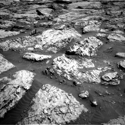 Nasa's Mars rover Curiosity acquired this image using its Left Navigation Camera on Sol 3113, at drive 2978, site number 87