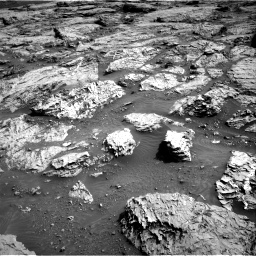 Nasa's Mars rover Curiosity acquired this image using its Right Navigation Camera on Sol 3113, at drive 2950, site number 87