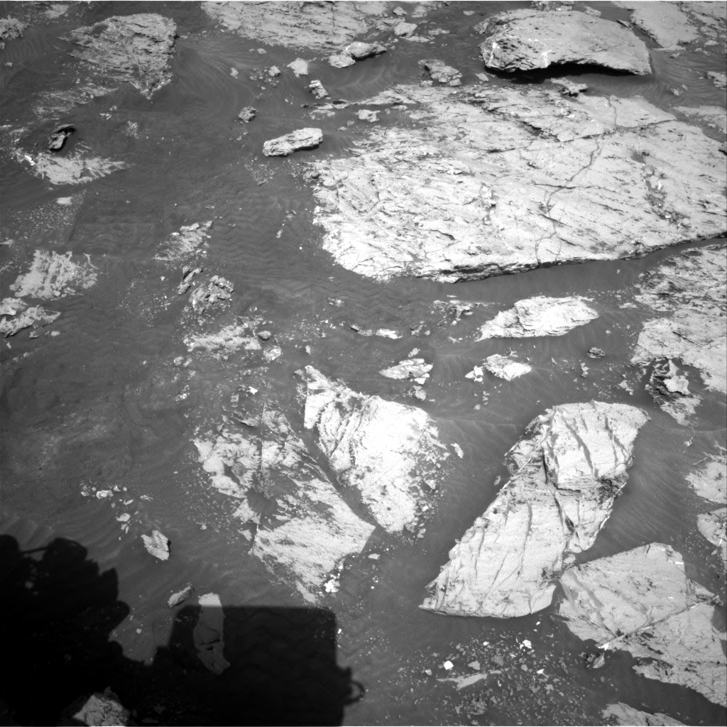 Nasa's Mars rover Curiosity acquired this image using its Right Navigation Camera on Sol 3113, at drive 2956, site number 87