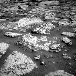 Nasa's Mars rover Curiosity acquired this image using its Right Navigation Camera on Sol 3113, at drive 2974, site number 87