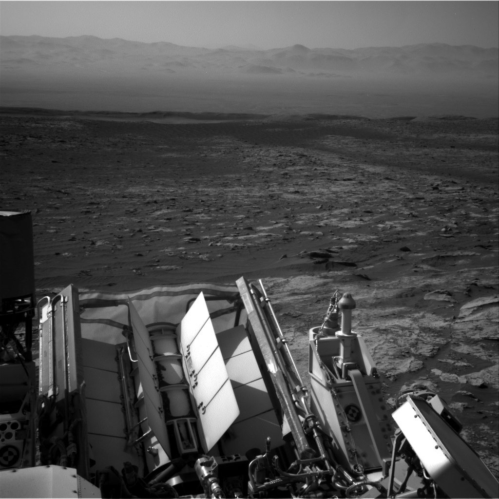Nasa's Mars rover Curiosity acquired this image using its Right Navigation Camera on Sol 3113, at drive 0, site number 88