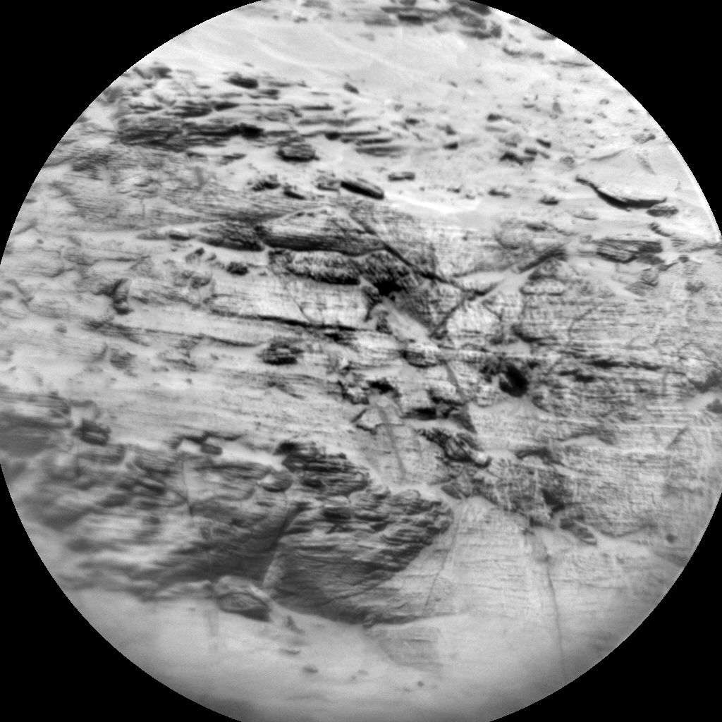Nasa's Mars rover Curiosity acquired this image using its Chemistry & Camera (ChemCam) on Sol 3113, at drive 2902, site number 87