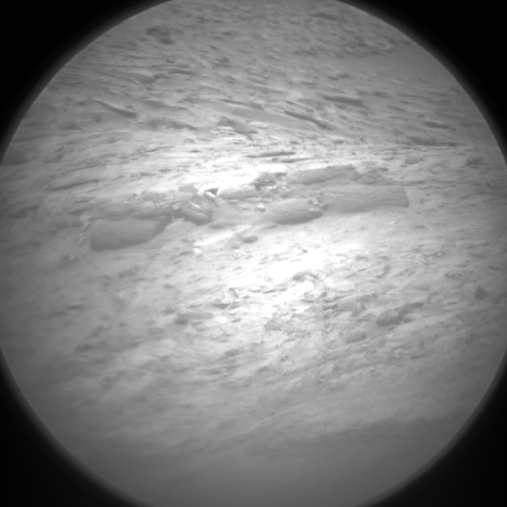 Nasa's Mars rover Curiosity acquired this image using its Chemistry & Camera (ChemCam) on Sol 3115, at drive 0, site number 88