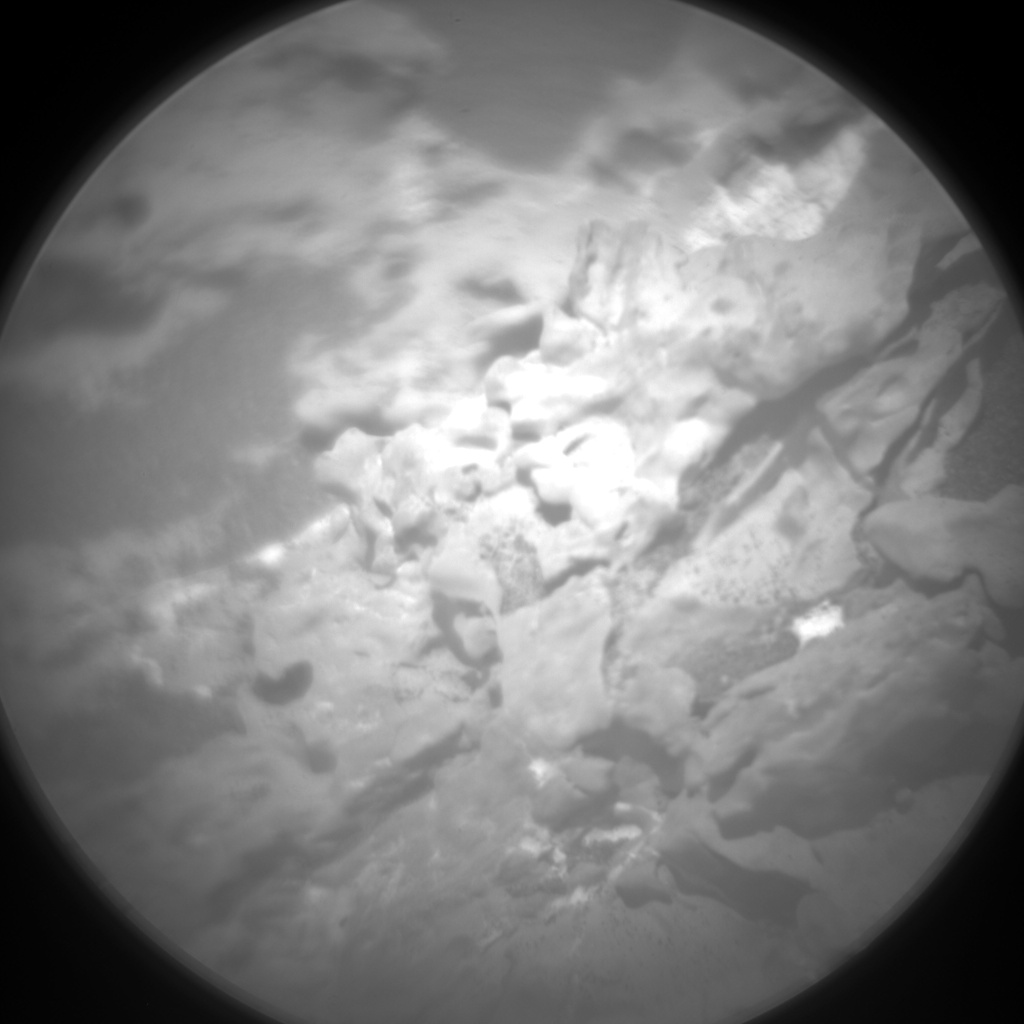Nasa's Mars rover Curiosity acquired this image using its Chemistry & Camera (ChemCam) on Sol 3117, at drive 0, site number 88