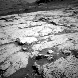Nasa's Mars rover Curiosity acquired this image using its Left Navigation Camera on Sol 3117, at drive 18, site number 88