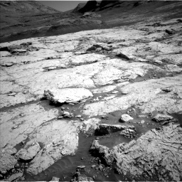 Nasa's Mars rover Curiosity acquired this image using its Left Navigation Camera on Sol 3117, at drive 24, site number 88