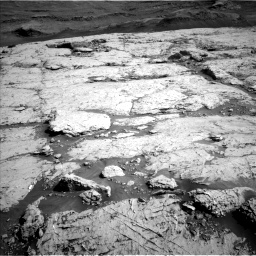 Nasa's Mars rover Curiosity acquired this image using its Left Navigation Camera on Sol 3117, at drive 30, site number 88