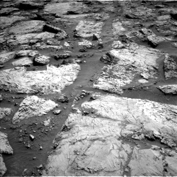 Nasa's Mars rover Curiosity acquired this image using its Left Navigation Camera on Sol 3117, at drive 54, site number 88
