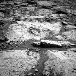Nasa's Mars rover Curiosity acquired this image using its Left Navigation Camera on Sol 3117, at drive 90, site number 88