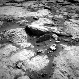 Nasa's Mars rover Curiosity acquired this image using its Left Navigation Camera on Sol 3117, at drive 108, site number 88